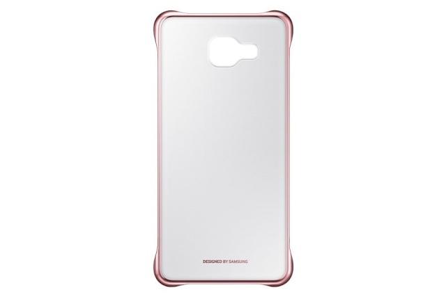 Samsung kaitseümbris kaitsekest Clear Cover for Galaxy A5 (2016) Pink Gold
