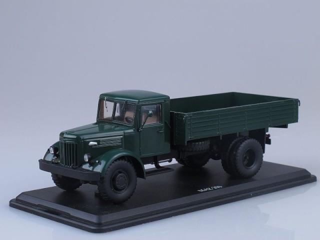c7f30499da8 SSM mudelauto MAZ-200 Flatbed Truck (dark Green)