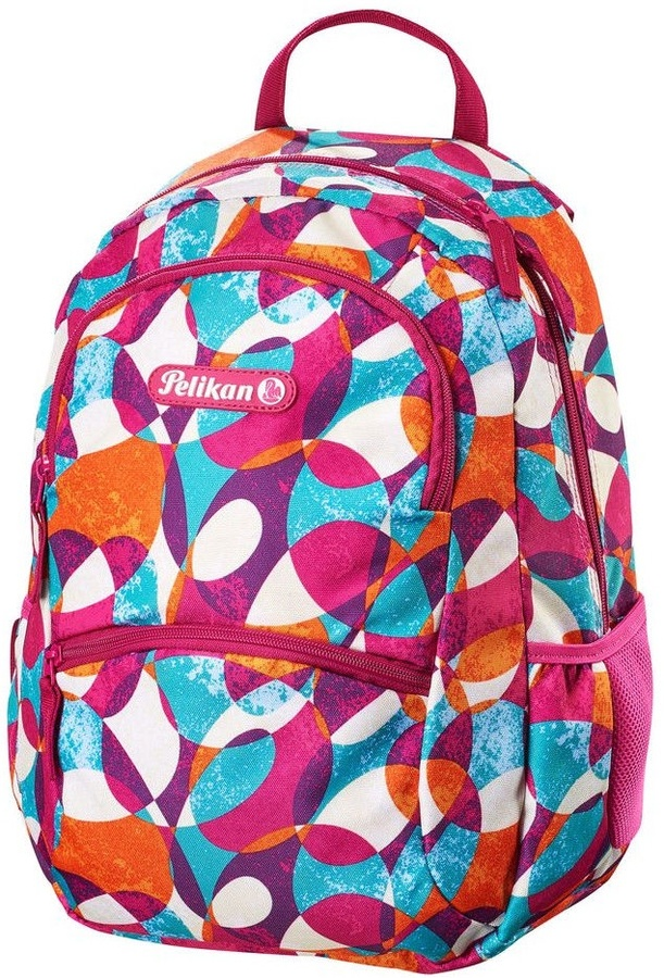 71ac5ac47e0 Herlitz Backpack Pelikan Coloured Circles/00500357