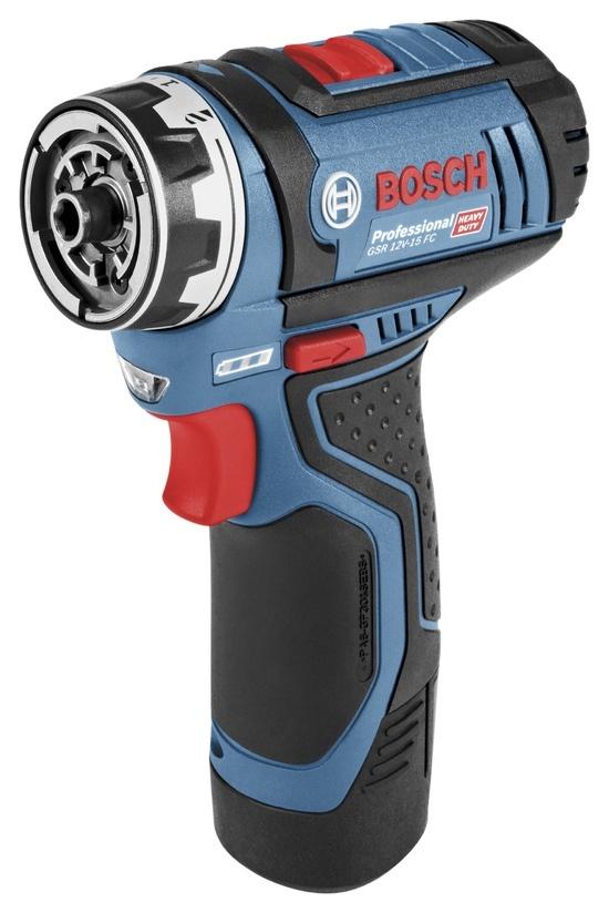 00076b2e4e1 Hinnavaatlus - Bosch GSR 12V-15 FC Flex Set; 12V; 2x2,0 Ah aku