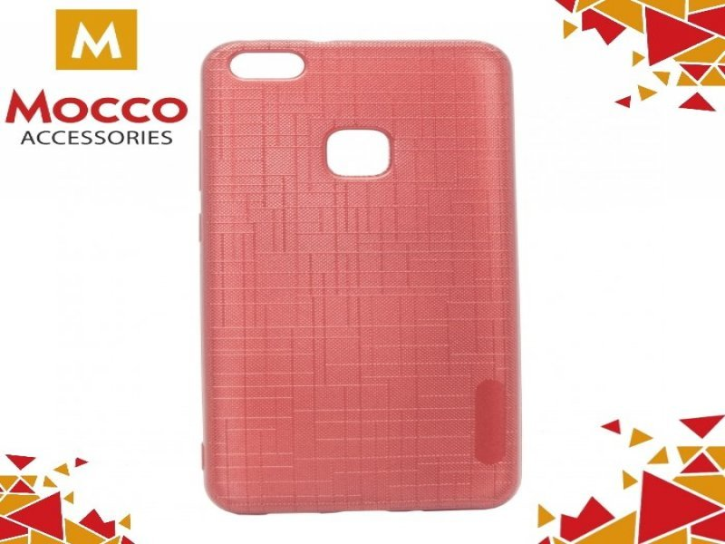 11904900d53 Mocco kaitseümbris Cloth Back Case Silicone Case With Texture for Huawei P8  Lite / P9 Lite (2017) Red