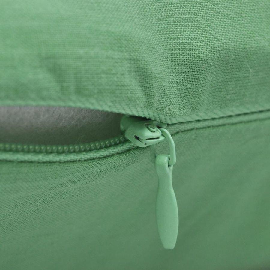 e0967ac9120 Hinnavaatlus - vidaXL Diivanipadja katted 4 tk 40 x 40 cm roheline