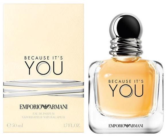 ff098e34644 Giorgio Armani Emporio Armani Because It's You 50ml EDP. Tootekood:  Kategooria: Parfüümid ...